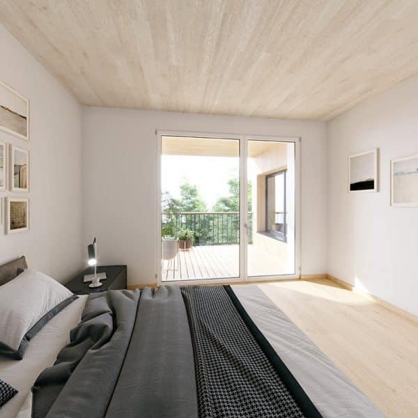 Schlafzimmer im DMP 8 (Symbolbild)